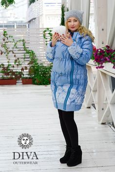Browse babywearing clothes in stock now! Baby Wearing, Winter Coat, Winter Jackets, Diva, Sweaters, Clothes, Dresses, Fashion, Winter Coats