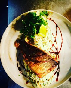 Today special sea bass & fennel/chives risotto#chefinstagram #chefsofinstagram #cheflife #chefporn #wildchef #truecooksstreetteam #foodporn #foodgasm #instachef #foodlover #ouichef #thugchef #cook #touchmymeatandiwillfuckyouup #truecooks #foodstarz #artofplating #whatwedo #gastroart #food #goodlooksforgoodcooks #instafood #theartofplating #stackpaper #tacoreligion #paiddacosttobetheboss #chefstalk #londonchef #comeandsweatwithus #chefstalk by chefmoreyto