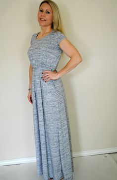 Keli Maxi Dress-- this is much more casual than my usual style but I would like it for hot NYC summer days.