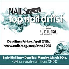 #NAILSNTNA www.nailsmag.com/ntna2015
