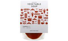 北海道野菜のスープ(トマト)
