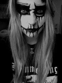 Best Black Metal Makeup | Makeupview co