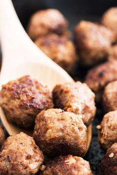 Learn how to make meatballs from scratch! Made with ground beef, breadcrumbs, egg and seasoning, you can cook them right away or freeze for easy meal prep! Easy Meal Prep, Easy Meals, Slow Cooker Recipes, Crockpot Recipes, How To Make Meatballs, Good Meatloaf Recipe, Spaghetti Sauce, Beef Dishes, Italian Recipes