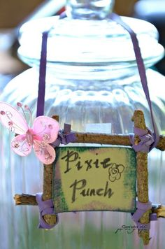 """Photo 9 of 41: Enchanted Forest/Woodland Fairy / Fairy Party """"Last year in the Enchanted World """" 