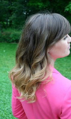 Ombre hair color effect. What do we think?