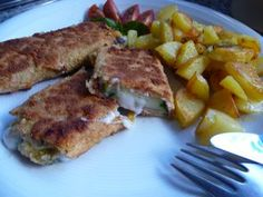 Zucchinischnitzel mit Käsefüllung - Glutenfrei Backen und Kochen bei Zöliakie. Glutenfreie Rezepte, laktosefreie Rezepte, glutenfreies Brot
