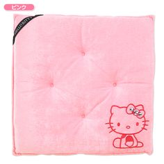 Hello Kitty rhinestone seat cushion Sanrio online shop - official mail order site