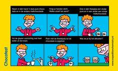 Chocotest, leuk proefje voor kinderen op de basisschool!