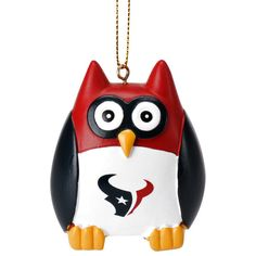 "Houston Texans 2.5"" Owl Ornament - $7.99"