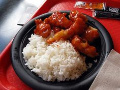 Orange Chicken from Lotus Blossum Cafe in Epcot's China Pavilion