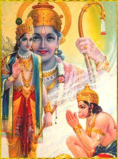 Hanuman listened to the Sri Rama in rapt attention. When he knew that Sri Rama came in search of Sita, Hanuman thought that Sugriva should. Hanuman Chalisa, Krishna Hindu, Shiva Shakti, Hindu Deities, Hare Krishna, Hanuman Photos, Hanuman Images, Lord Krishna Images, Hanuman Hd Wallpaper