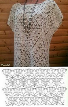 Best 12 Boho Crochet Robe Crochet pattern by ElevenHandmade – SkillOfKing.Com - So Funny Epic Fails Pictures Blouse Au Crochet, T-shirt Au Crochet, Pull Crochet, Mode Crochet, Black Crochet Dress, Crochet Cardigan Pattern, Crochet Shirt, Crochet Diagram, Crochet Stitches Patterns