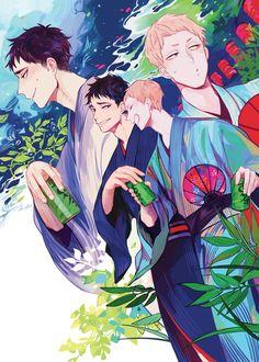 - Issei Matsukawa x Takahiro Hanamaki - MatsuHana Iwaoi, Kuroken, Kagehina, Haikyuu Ships, Haikyuu Fanart, Haikyuu Anime, Haikyuu Volleyball, Volleyball Anime, Get Well Soon