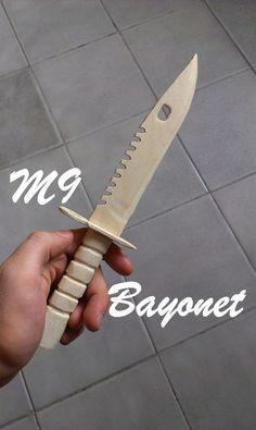 Wooden M9 Bayonet