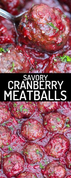 healthy cranberry meatballs #easydessert #healthydessert #dessertideas