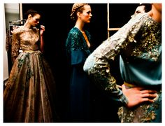 ELIE SAAB Haute Couture Fall Winter 2012-13 - Backstage