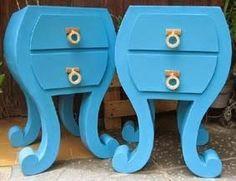 Mesillas de cartón azules ecológicas