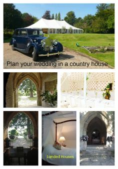 Imagine a romantic wedding in the country