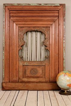 Salvaged Antique Indian Architectural Wood by hammerandhandimports, $1199.00