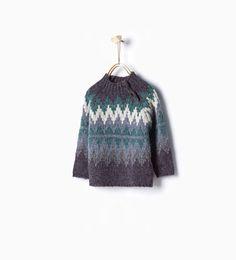 ZARA - BAMBINI - Pullover jacquard