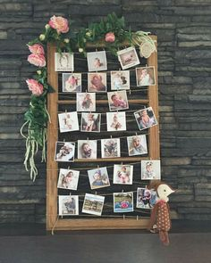 DIY Old Window Inspired Photo Display Ideas