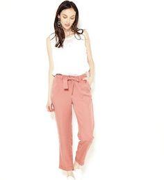 Pantalon chino femme 100% lyocell