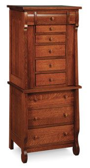 empire jewelry armoire from simply amish furniture