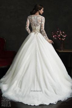 Amelia Sposa 2015 Wedding Dress Style: Leonor | Heart Over Heels #bridal #designer