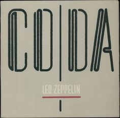 Led Zeppelin, Coda, Portugese, Deleted, vinyl LP album (LP record), Swan Song, 75679-0051-1, 599269