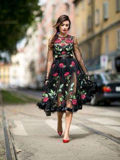 20 najlepših haljina i suknji sa ulica Milana