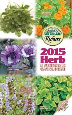 70 Free Seed and Plant Catalogs: Richters Herbs Plant and Seed Catalog