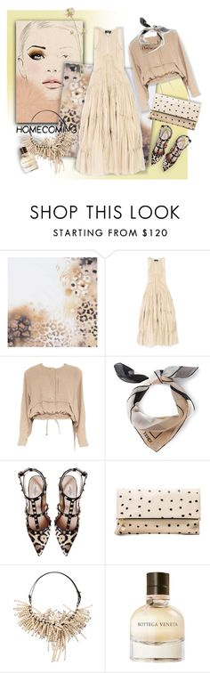 """""""Homecoming Style"""" by ysmn-pan ❤ liked on Polyvore featuring Mulberry, Dsquared2, Issey Miyake, Fendi, Valentino, Clare V., Brunello Cucinelli, Bottega Veneta, contest and Homecoming"""