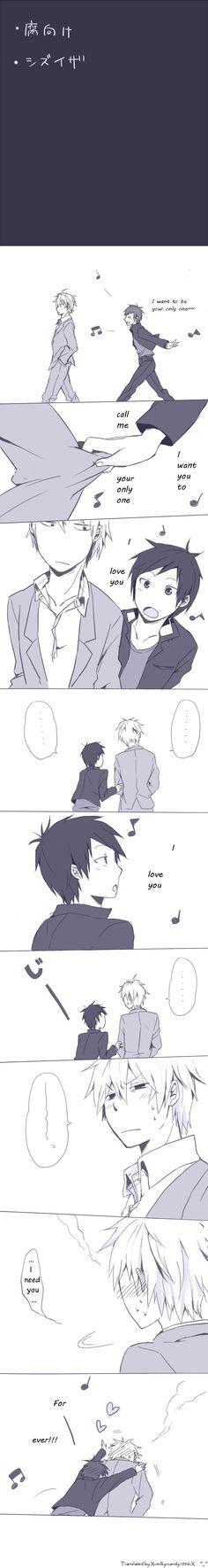 xD aww Shizu-chan