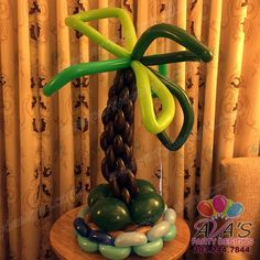Palm Tree Twisted Balloon Creation  #PartyWithBalloons