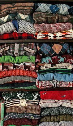 Grandpa sweaters gone right.