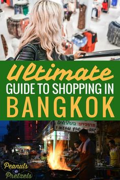 """The shopping in Bangkok is some of the best in the world - you can find just about anything you could think of from high-end fashion to """"I ❤ Bangkok"""" shirts. If you are limited on time, then deciding where to shop in Bangkok is essential to finding what Thailand Travel Guide, Asia Travel, Visit Thailand, Phuket, Travel Advice, Travel Guides, Amazing Destinations, Travel Destinations, Bangkok Shopping"""