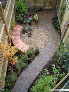 39 идей обустройства маленького двора частного дома