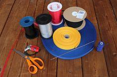 ruutujen yhdistämisen tarvikkeet Korn, Diy, Paper Engineering, Bricolage, Do It Yourself, Homemade, Diys, Crafting