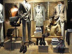 VM, visual merchandisign, vitrine, menswear, fashion