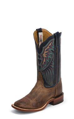 4692124a3 Tony Lama Womens Tan Saigets Worn Goat Leather Bandolero Western Boots. Kovbojské  ČižmyCountry Outfitter