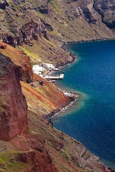 Armeni port, Santorini island #Greece