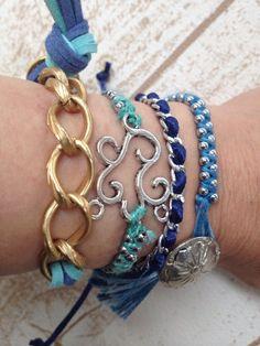 ハンドメイド:Blue collection