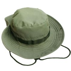 Wide Brim Camo Bucket Hats