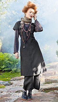 Gudrun Sjoden - Versatile Linen Dress, view B