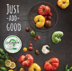 // Chobani 'Just Add Good' by Leo Burnett New York , via Behance