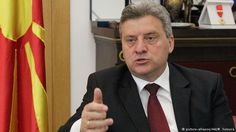 "11/3/2016 MACEDONIA: President Gjorge Ivanov stated Balkan countries are victims of a ""failed refugee policy"" by Germany & Brussels. If he had relied on the EU, Macedonia would now be flooded with jihadis.  By Nik Martin."