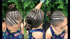 69 Ideas Braids For Girls Highlights For 2019 Short Curly Updo, Short Hair Undercut, Curly Hair Styles, Natural Hair Styles, Medium Short Haircuts, Wavy Bob Haircuts, Haircuts With Bangs, Square Face Hairstyles, Braided Hairstyles Tutorials