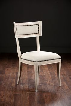 Cassandra Side Chair - Mecox Gardens.  No other fabric/finish options.  $615 retail / $522.75 net