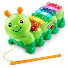 VTech Zoo Jamz Xylophone Caterpillar With Three Modes, Green