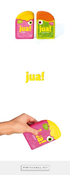 packaging_ kids shampoo Jua! Jua! on Behance - created via http://pinthemall.net